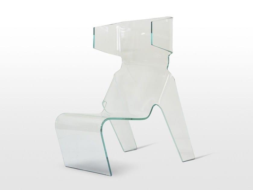 Crystal armchair KLEER - Paolo Castelli
