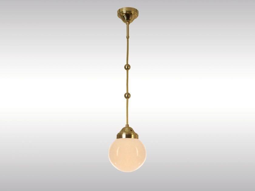 Classic style pendant lamp KM-PENDE - Woka Lamps Vienna