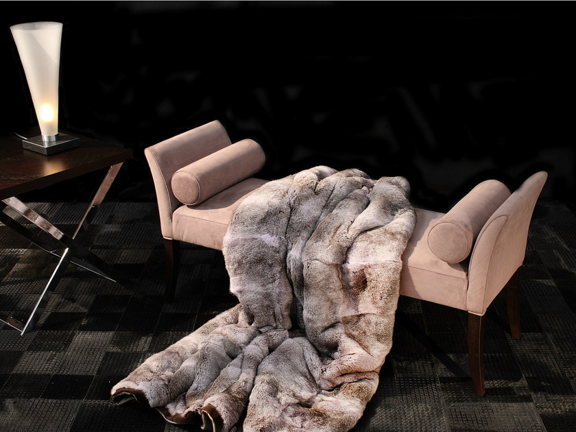 Fur bedspread KOAT - Capital Collection by Atmosphera