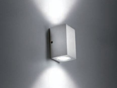Led aluminium wall lamp koba 2 koba collection by bel lighting Fixture exterieur led