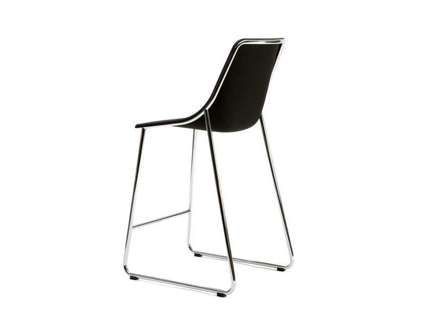 Sled base fabric counter stool KOLA BAR - Inno Interior Oy