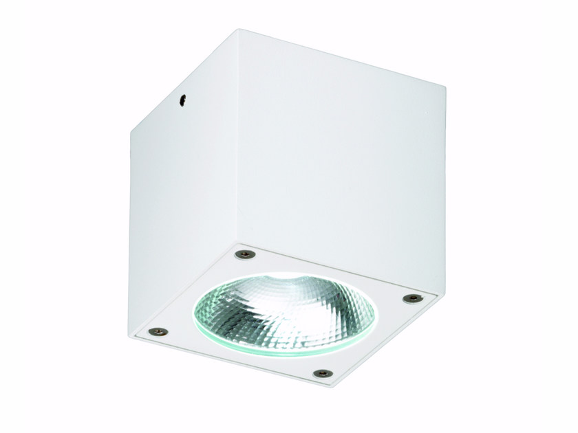 LED square ceiling die cast aluminium spotlight KOMBU | Square spotlight - ROSSINI ILLUMINAZIONE