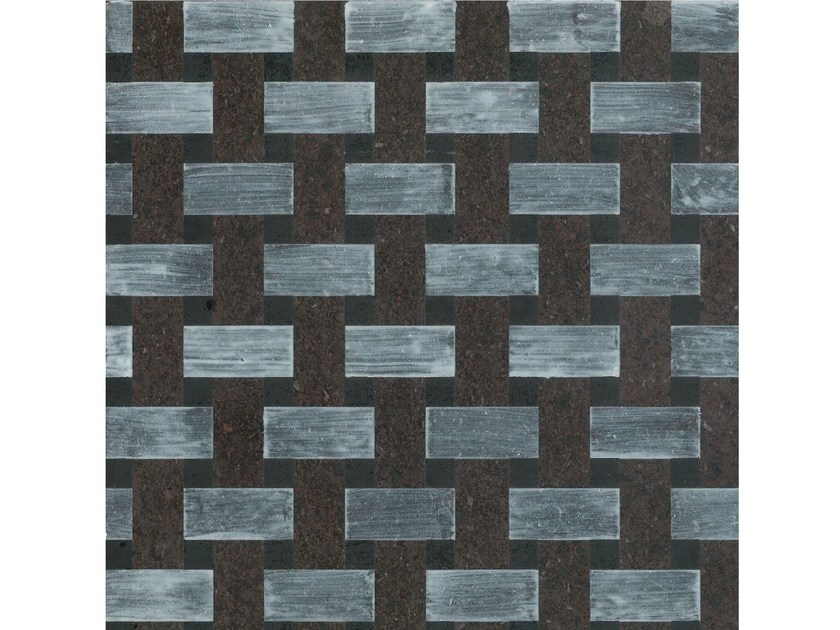 Lava stone wall/floor tiles KOMON NATURA KN/ND103 by Made a Mano