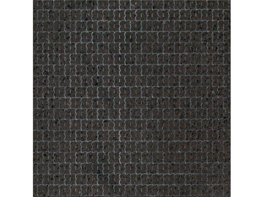 Lava stone wall/floor tiles KOMON NATURA KN12 by Made a Mano