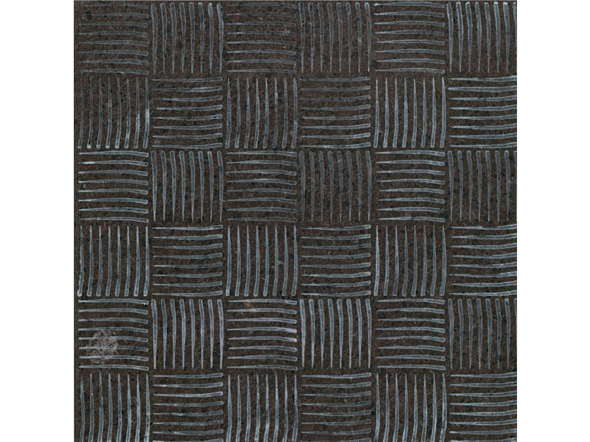Lava stone wall/floor tiles KOMON NATURA KN14 by Made a Mano