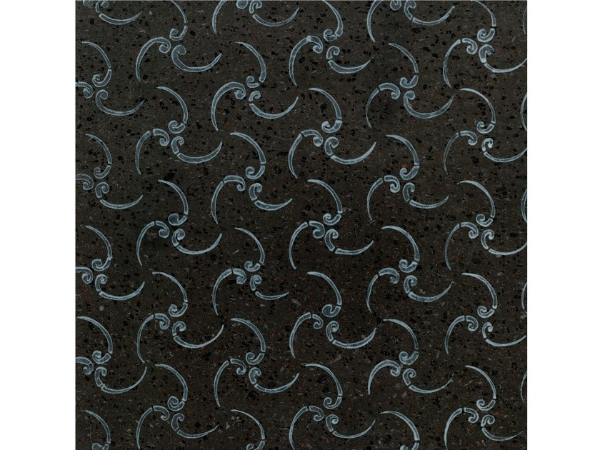 Lava stone wall/floor tiles KOMON NATURA KN16 by Made a Mano