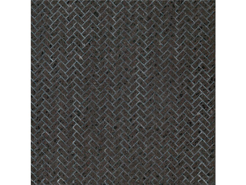 Lava stone wall/floor tiles KOMON NATURA KN18 by Made a Mano