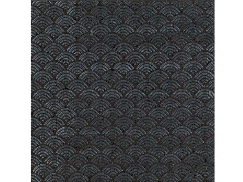 Lava stone wall/floor tiles KOMON NATURA KN4 by Made a Mano