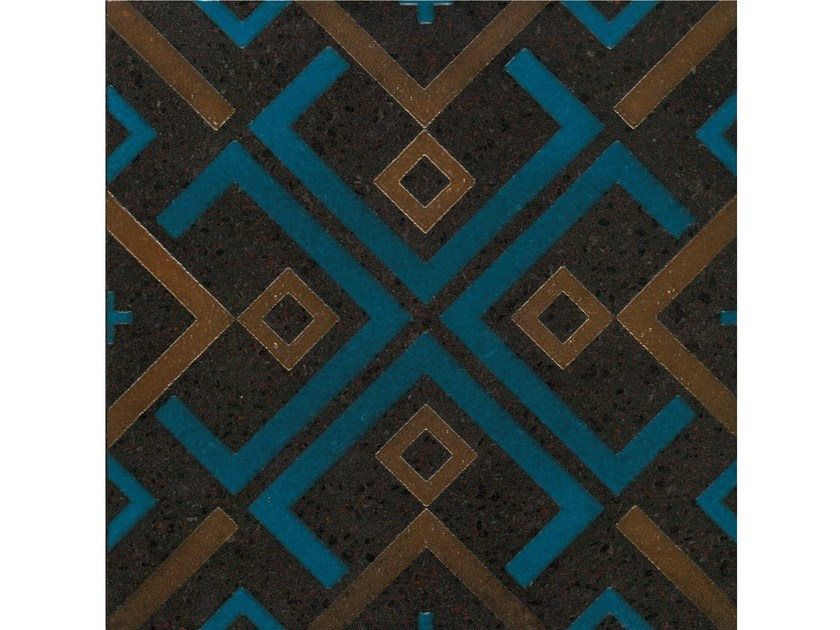 Lava stone wall/floor tiles KOMON TATTO KT20 by Made a Mano