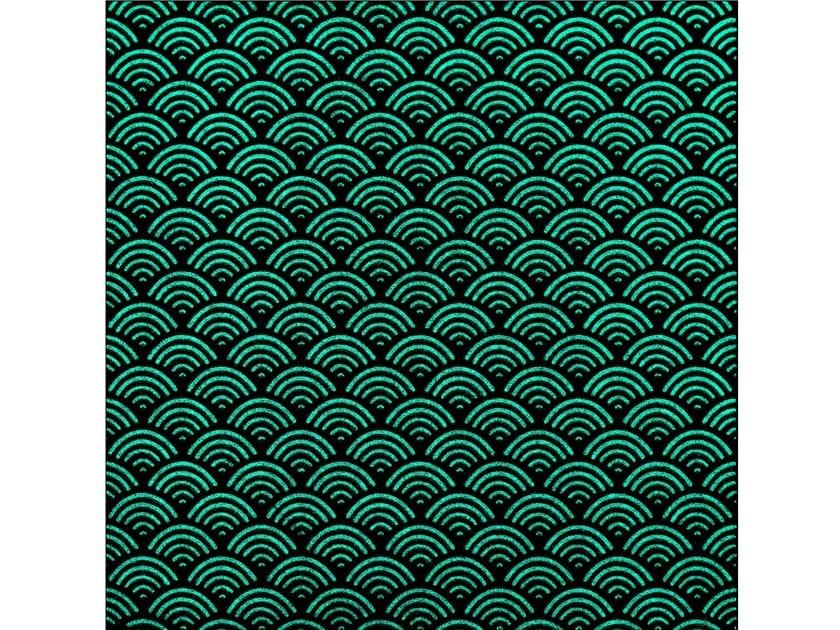 Lava stone wall/floor tiles KOMON TATTO LUMINESCENT KTL4 by Made a Mano
