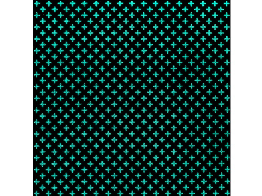 Lava stone wall/floor tiles KOMON TATTO LUMINESCENT KTL3 by Made a Mano