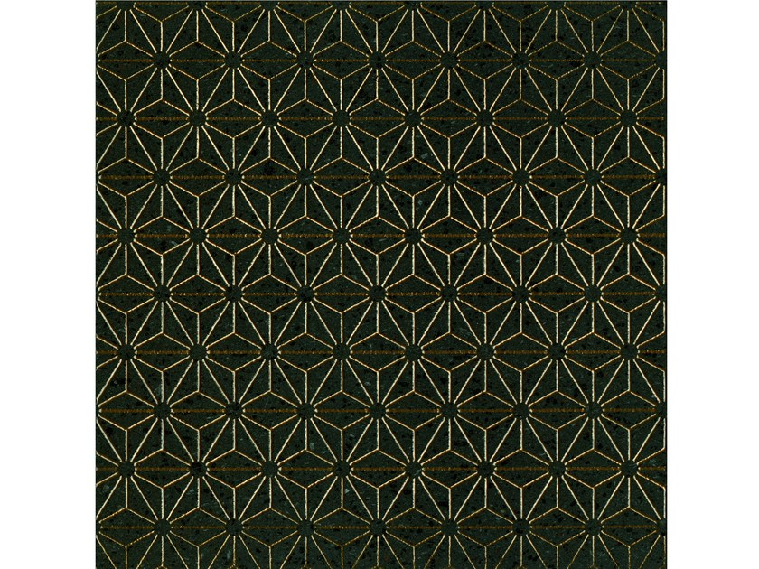 Lava stone wall/floor tiles KOMON TATTO KT11 by Made a Mano