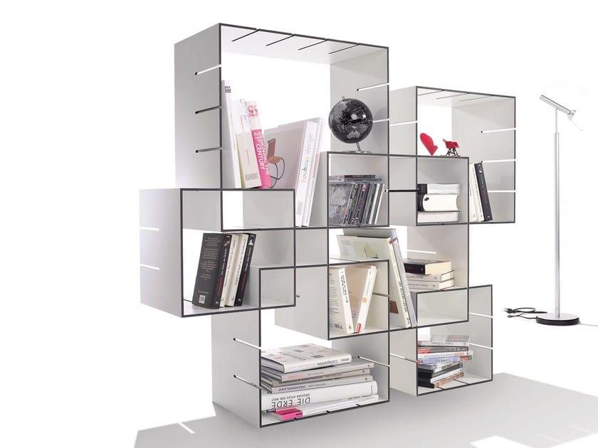 Sectional bookcase KONNEX - Müller Möbelwerkstätten
