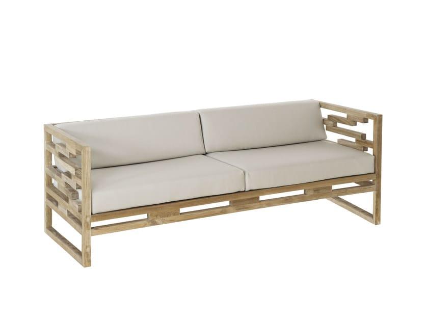 Teak garden sofa KONTIKI   Sofa - EMU Group S.p.A.