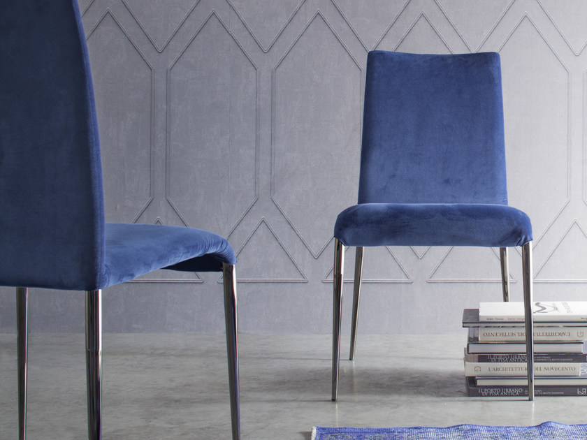 Upholstered fabric chair KOSMOS | Chair by Tonin Casa