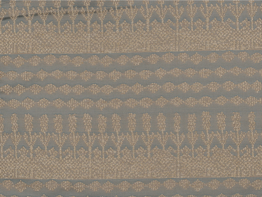 Jacquard polyester and cotton fabric with graphic pattern KOTWARA - KOHRO