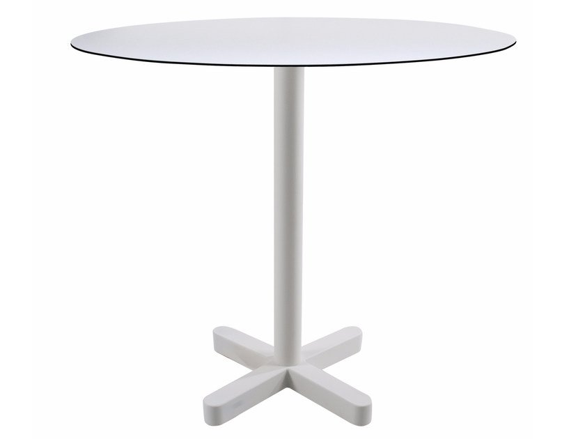 Metal table base with 4-spoke base KROSS by Papatya