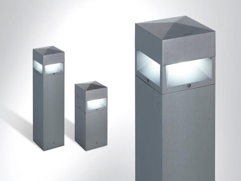 LED bollard light KUBIX 180 - Arcluce