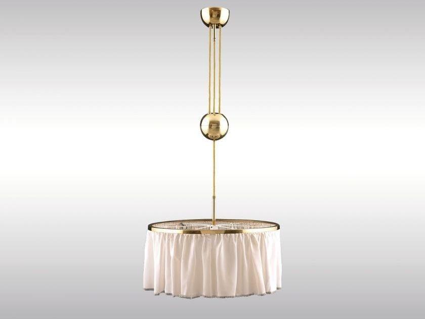 Classic style pendant lamp KUGELZUG - Woka Lamps Vienna