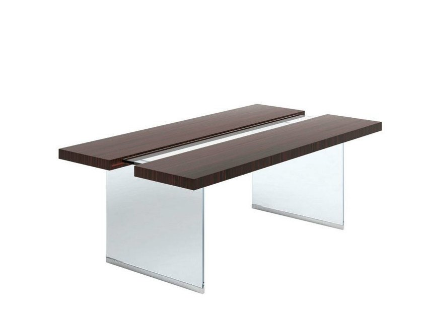 Rectangular solid wood writing desk KUT - Capital Collection by Atmosphera