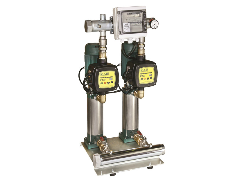Constant pressure set with active driver KV AD 3/6/10 by Dab Pumps