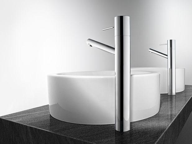 Countertop stainless steel washbasin mixer KWC ONO | Washbasin mixer by KWC
