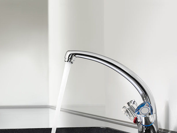 Countertop 1 hole washbasin mixer KWC STAR | Countertop washbasin mixer by KWC