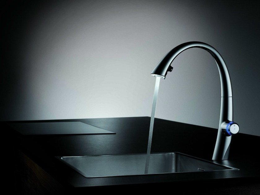 Countertop electronic kitchen tap KWC ZOE TOUCH LIGHT PRO | Kitchen tap - Franke Water Systems AG, KWC