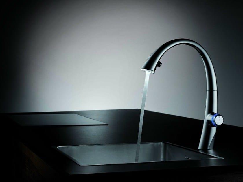 Countertop electronic kitchen tap KWC ZOE TOUCH LIGHT PRO | Kitchen tap by KWC
