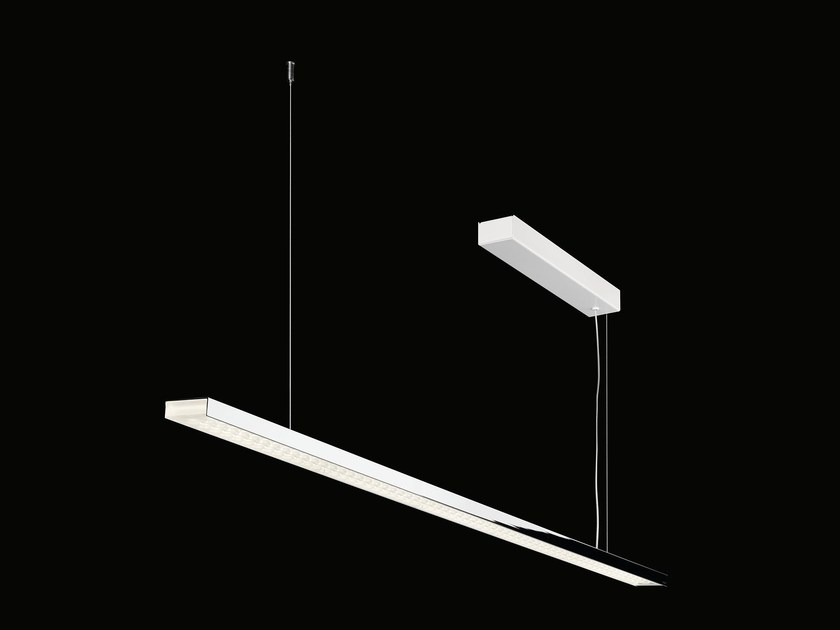 Suspended luminaire with converter L 120 | Pendant lamp by Nimbus