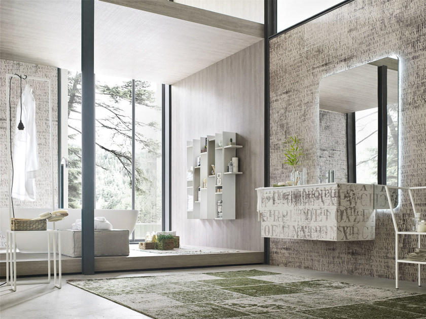 Bathroom cabinet / vanity unit LA FENICE DECOR - COMPOSIZION 22 - Arcom