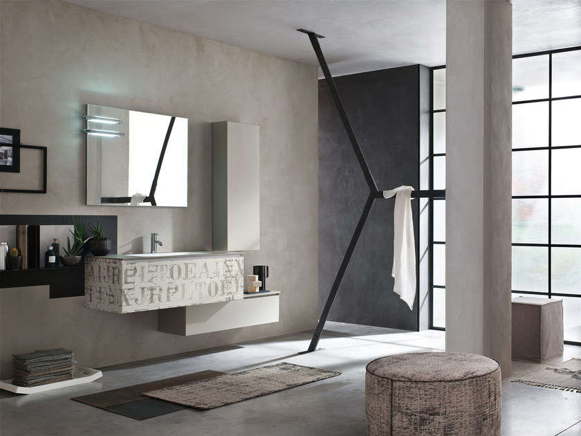 Bathroom cabinet / vanity unit LA FENICE DECOR - COMPOSIZION 24 - Arcom