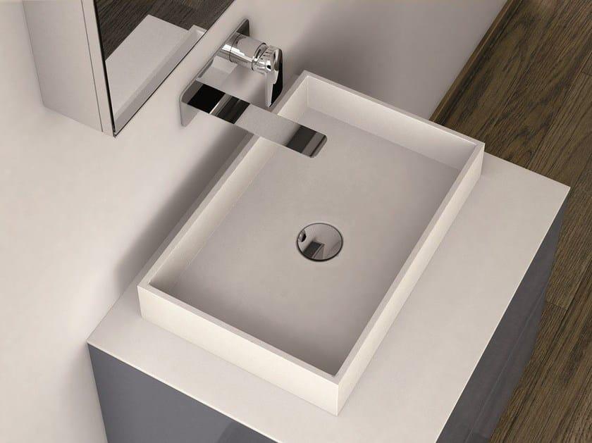 Countertop Solid Surface® washbasin LA429 | Countertop washbasin - INBANI