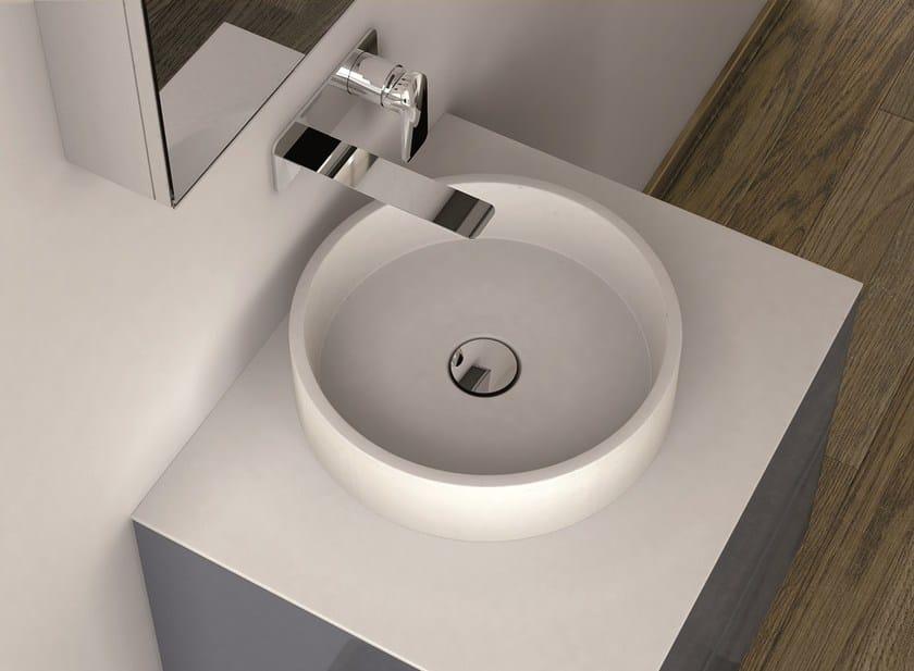 Countertop round washbasin LA431 | Countertop washbasin - INBANI