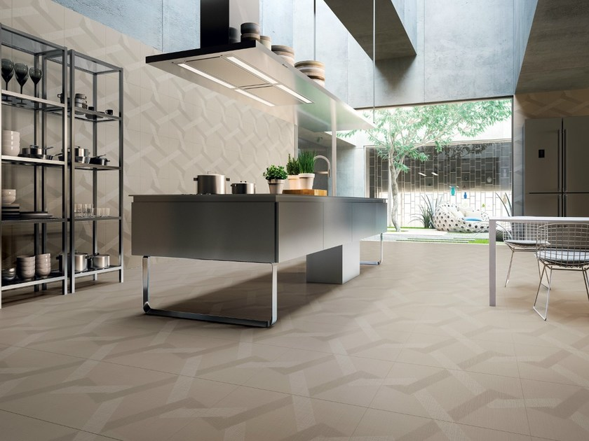 Porcelain stoneware wall/floor tiles LABYRINTH - MIRROR by Ceramiche Refin