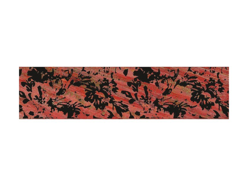 Wall tiles / flooring LACCHE FLOWER ROSSO by CERAMICHE BRENNERO