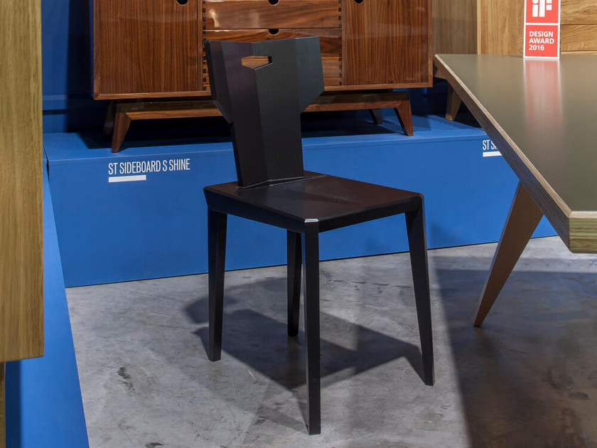 Sedia laccata in frassino PEGAZ | Sedia laccata - ST FURNITURE