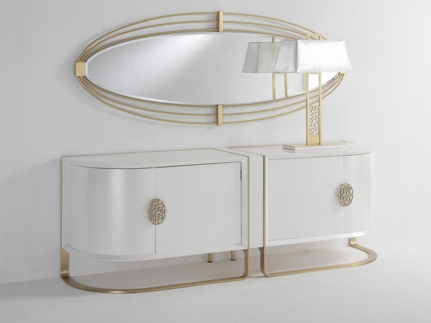 Lacquered sideboard with doors KLASS | Lacquered sideboard by Muebles Canella