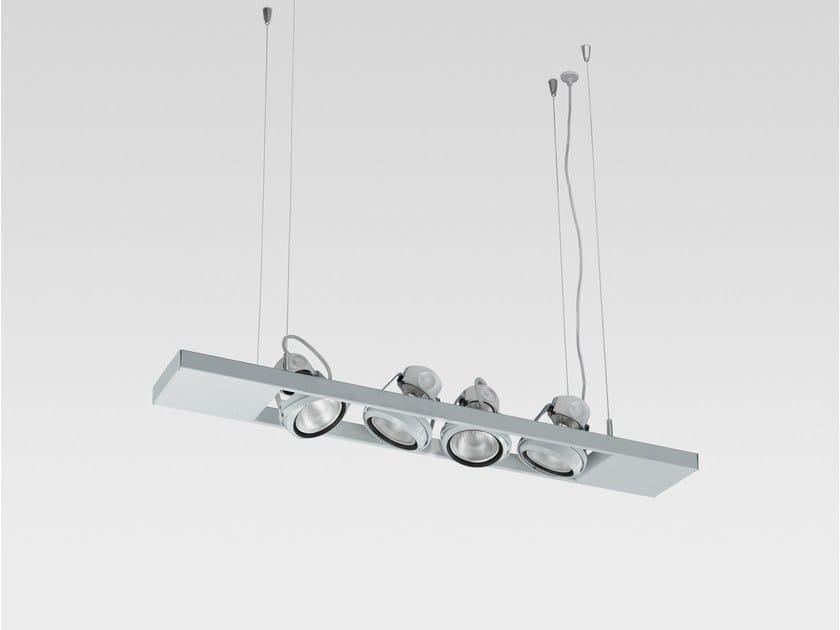 LED pendant lamp LADDER 4X | Pendant lamp - Reggiani Illuminazione
