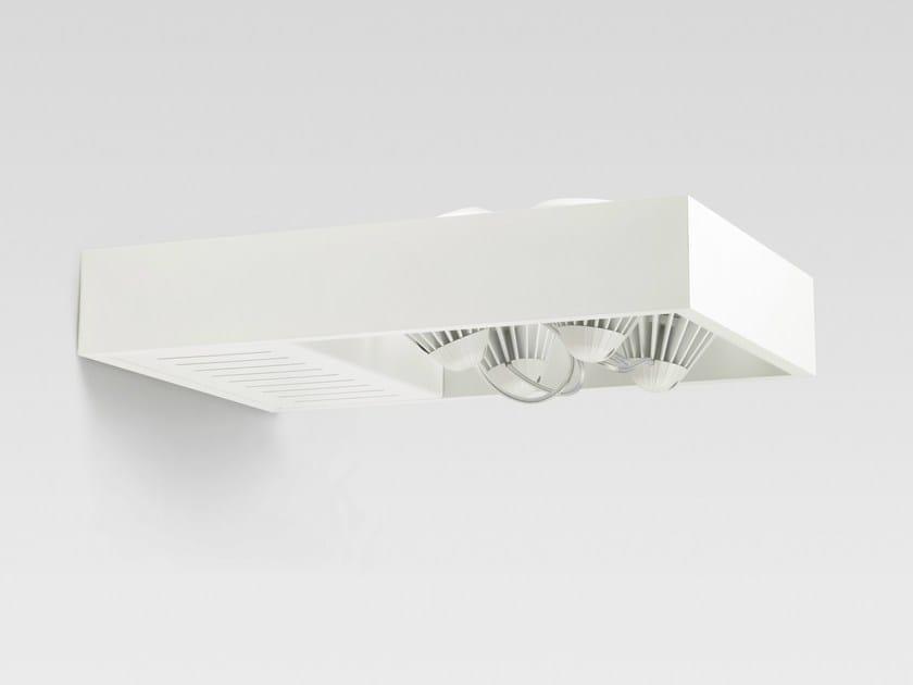 LED wall-mounted adjustable spotlight LADDER 4X | Wall-mounted spotlight - Reggiani Illuminazione