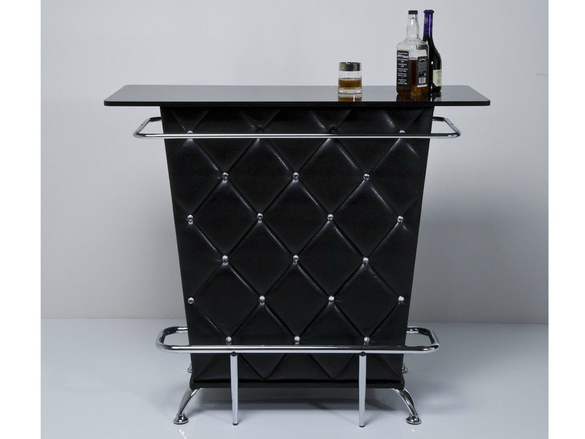 MDF bar cabinet LADY ROCK BLACK by KARE-DESIGN
