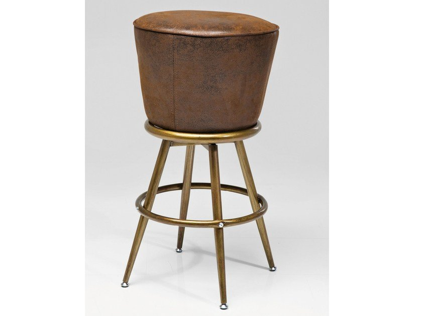 Upholstered barstool LADY ROCK | Stool by KARE-DESIGN