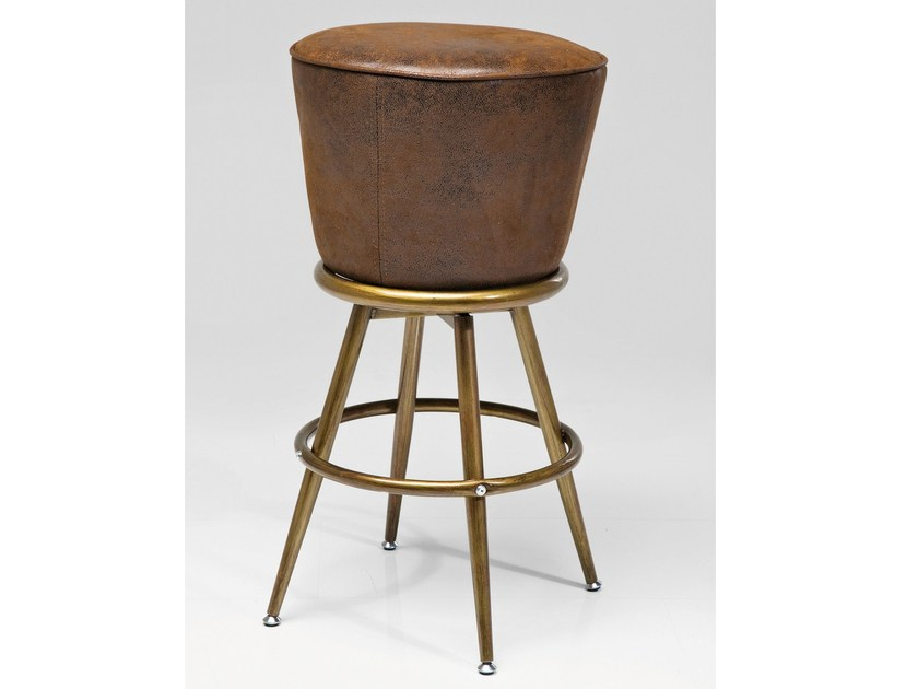 Upholstered barstool LADY ROCK | Stool - KARE-DESIGN