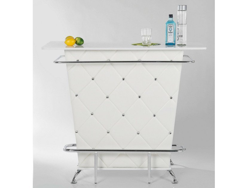 MDF bar counter LADY ROCK WHITE - KARE-DESIGN