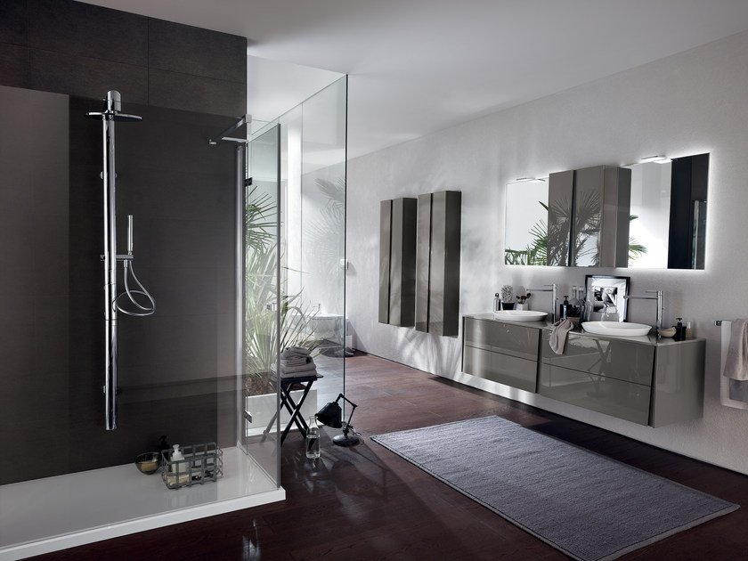 Bathroom furniture set LAGU - Scavolini Bathrooms