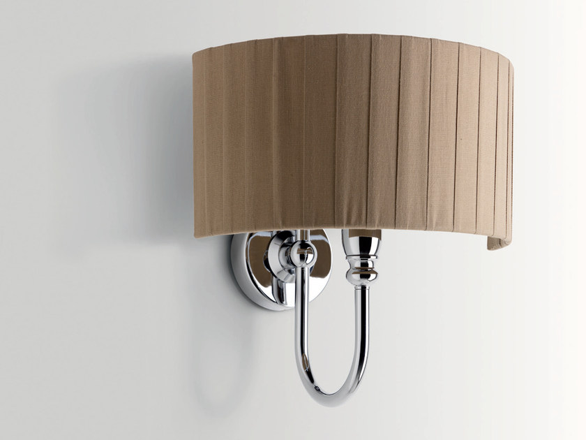 Fabric bathroom wall lamp LAMBERT by BATH&BATH