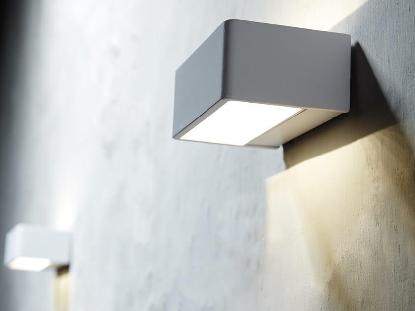 Applique bagno a led in alluminio lamp by inbani - Applique led bagno ...