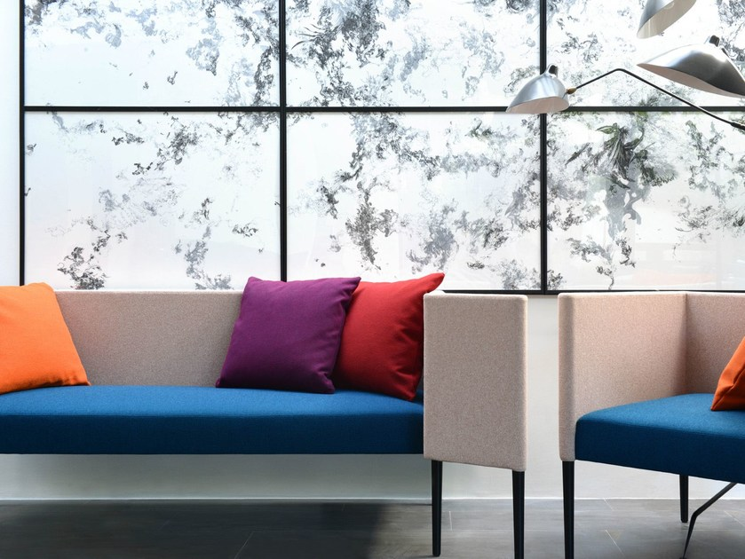 Fire retardant Trevira® CS fabric LANA by LELIEVRE