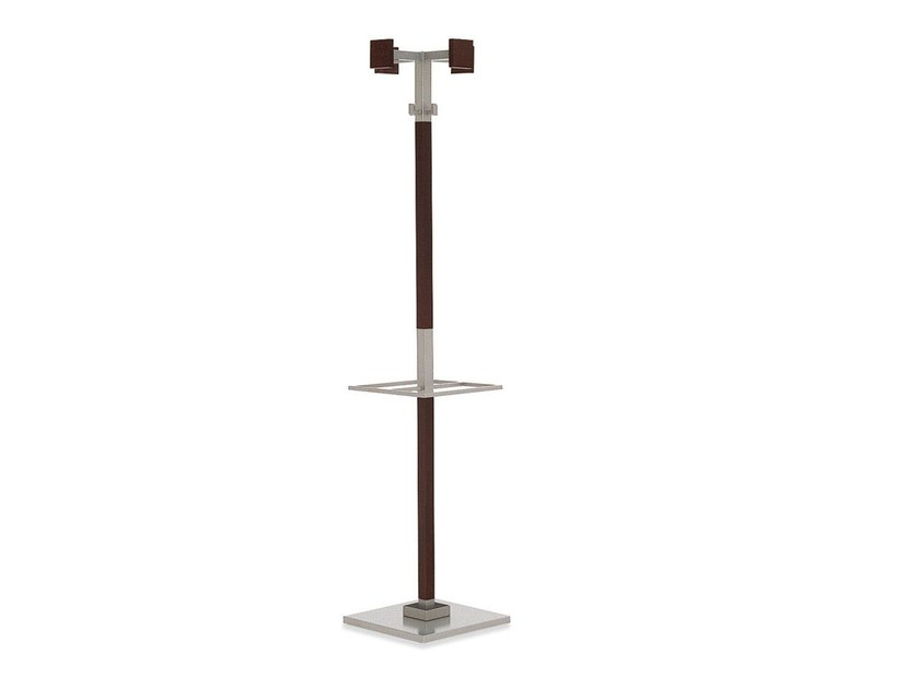 Wooden coat stand LANDSCAPE | Coat rack - Calligaris