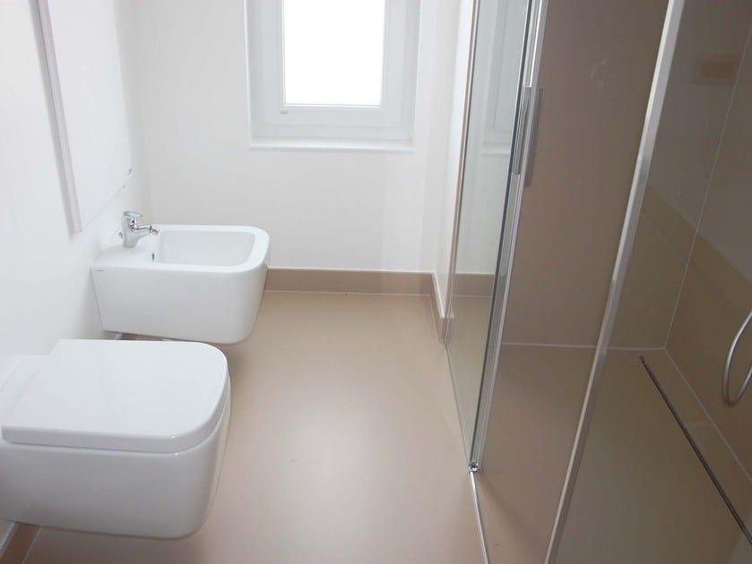 Posa piatto doccia filo pavimento. ideal standard connect piatto